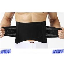 Male Body Slimming Corset Belt Waist Breathable Fabric