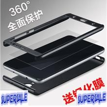 360 Protection with Glass Casing Case Cover for Xiaomi Redmi Note 3