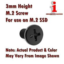 OEM 3mm Height M.2 Screw and Standoff for use on M.2 SSD