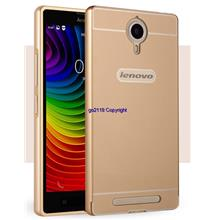 Lenovo p90 k80 k80m Metal bumper w back case casing cover