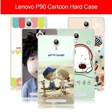 Lenovo p90 k80 k80m cartoon hard case casing cover