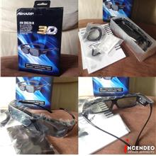 **incendeo** - SHARP TV Rechargeable 3D Glasses AN-3DG20-B