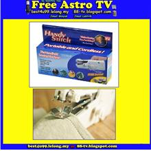 Mesin Jahit Tangan Mini As Seen On TV bateri battery Sewing Machine ss