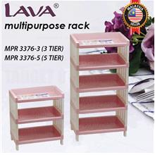LAVA Multipurpose Storage Rack Shelving Organizer 3 / 5 Tier