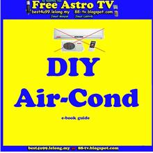 DIY Air Conditioner air cooler kipas air cond a con angin sejuk e-book