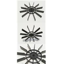 100mm Paddle wheel boat propeller