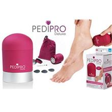 PediPro Deluxe Pedicure Pedi Foot File Hard Skin Remover Kit TV