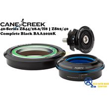 CANE CREEK 40-Series ZS44/28.6/H8 | ZS62/40 Complete Black BAA2026K