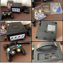 **Incendeo** - Nintendo Gamecube Black Game Console DOL-001(JPN)