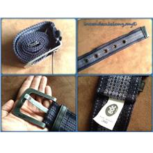 **Incendeo** - edc Blue Casual Big Buckle Belt