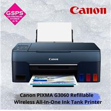 Canon PIXMA G3060 Refillable Wireless All-In-One Ink Tank Printer