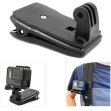 Rotation Backpack Clip Clamp Mount Strap GoPro Action Camera