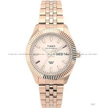TIMEX TW2U78400 (W) Waterbury Legacy Boyfriend 36mm Bracelet Rose Gold
