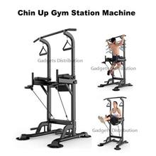 Dip Chin Up Muscle Gym Fitness Exercise Tower Station Machine 2543.1