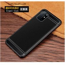 Oneplus 8T soft leather like back luxury Case Casing Cover