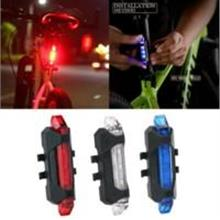 Front & Rear LED Bicycle Bike Light Lamp USB Rechargeable