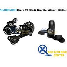SHIMANO Deore XT M8050 Di2 Rear Derailleur + Shifter