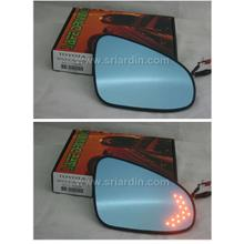 Toyota Altis Vios Camry 14-17 Blue Side Mirror w LED Signal