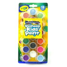 Crayola Washable Kids' Paint 18 Colors Nontoxic Made in USA