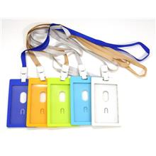 ID Card Holder Badge Tag Pass With Lanyard