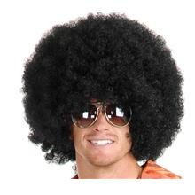Cosplay party AFRO WIG 200g black /ready stock/ rambut palsu