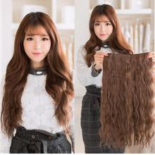 Ready stock wig extension z12 antishine 140g corn perm style 5 clips 6