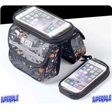 Bicycle Bag 3 Compartment iPhone 6 Plus 5.5 inch