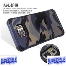 Samsung Note 5 N9200 Camouflage Hard Drop Resistance Case Casing Cover
