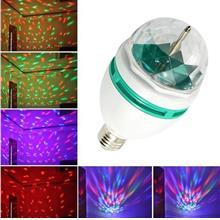 (6pcs) Voice Control E27 Disco DJ Stage Lighting LED RGB Crystal Ball