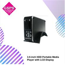 EDGE 3.5-inch HDD Portable Media Player with LCD Display