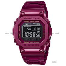 CASIO GMW-B5000RD-4 G-SHOCK Digital Bluetooth Solar Bracelet Red
