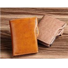 Jeepulada Genuine leather Men's wallet men short paragraph retro