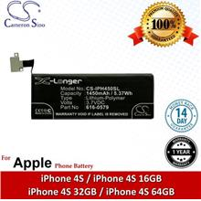 Original CS Phone Battery IPH450SL Apple iPhone 4S 16GB 32GB 64GB