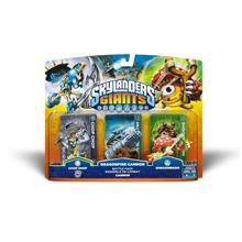 Skylanders Giants Battlepack #1 - Chop Chop - Dragonfire Cannon - Shro