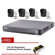 HIKVISION CCTV 5MP 4-IN-1 CH PACKAGES (5 MEGAPIXELS)