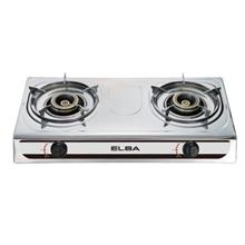 ELBA 2-Burner Gas Stove Brass Burner Ring EGS F7192(SS)