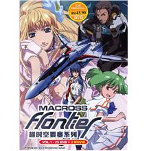 Macross Frontier 25 Episodes + 2 Movie Japanese Anime DVD