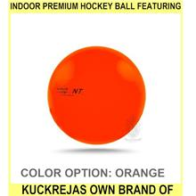 Indoor Premium Hockey Ball Featuring Kuckrejas Own Brand Of - [ORANGE]