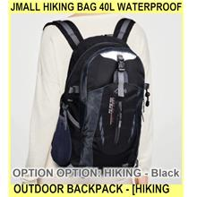 Jmall Hiking Bag 40l Waterproof Outdoor Backpack Hi - [HIKING - BLACK]