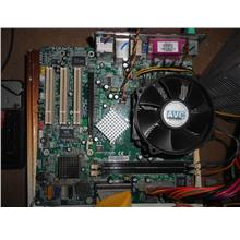 HP RC410-M 775 Mainboard n PD 2.8Ghz 120413