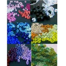 1000pcs Wholesale Colour 4mm #5301 Austrian Swarovski Crystal Bicone L