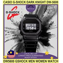 Casio G-shock Dark Knight Dw-5600 Dw5600 Gshock Men Women Watch Jam Ta