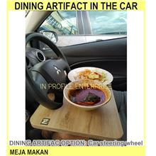 Dining Artifact In The Car / / Meja Makan Di Da - [CAR STEERING WHEEL]