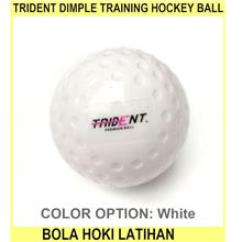 Trident Dimple Training Hockey Ball - Bola Hoki Latihan - [WHITE]