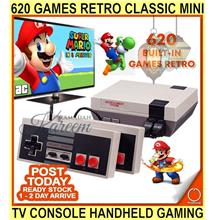 620 Games Retro Classic MINI Tv Game Console Handheld Gaming Player Av