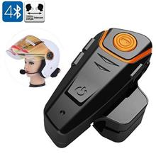 1000m Range Motorcycle Bluetooth Headset Intercom (BH-07B).