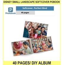 Disney Small Landscape Softcover Pobook 40 Pages/ DIY Po Album (8inch