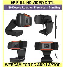 0p Full Hd Video dgtl Webcam For Pc And Laptop With Built-in Mic And U