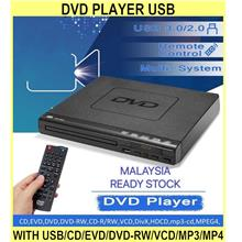 Dvd Player USB With USB/cd/evd/dvd-rw/vcd/mp3/mp4