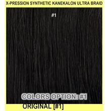 X-pression Synthetic Kanekalon ULTRA Braid - - ORIGINAL - [#1]